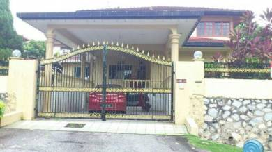 Double Sty Bungalow at Gombak Setia