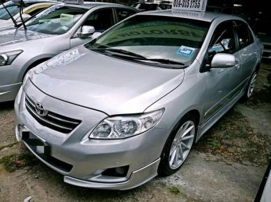 2010 Toyota COROLLA 1.6 ALTIS E FACELIFT (A)