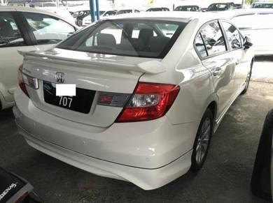 2013 Honda CIVIC 1.8 (A) MODULO MUGEN FULL LOAN OK