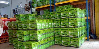 Amaron bateri kereta car battery delivery