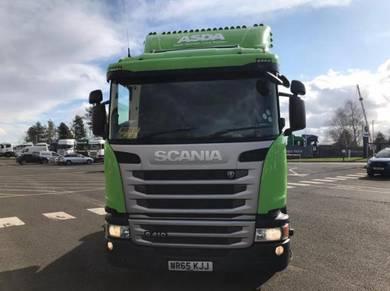 2015~16 SCANIA G410 UK green engine