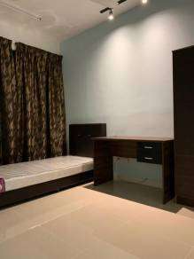Fully Furnished Room to Rent (WiFi) Danau Kota Suite Apartment Nearb