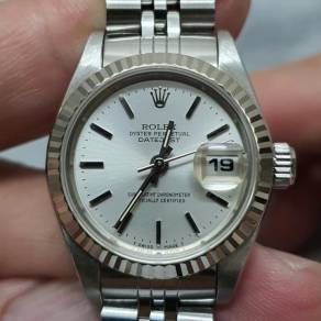 Rolex Ladies Datejust 69174 white gold