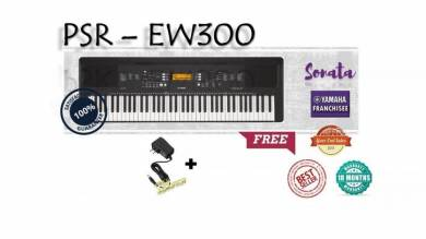 Yamaha Digital Keyboard PSREW300 Set B
