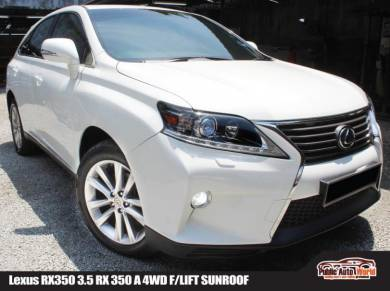 Lexus RX350 RX 350 NEW FACELIFT SROOF PBOOT RX270