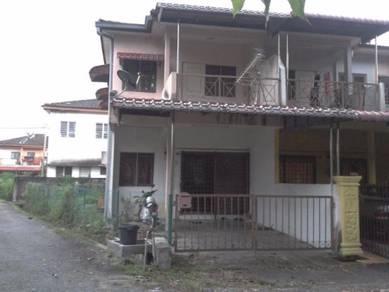 Double storey terrace, corner lot, taman meru 2b, ipoh