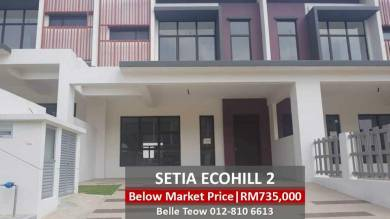[Below Market Value]New Double Storey 24x76 Setia Eco Grandlis