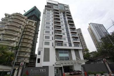 Freehold PUTERI YKS Condominium Walking Distances To KLCC 1900sf