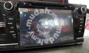 "Toyota altis 2015 8"" oem car dvd player gps NEW"