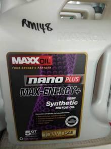Maxxoil 10w40 synthetic (made in usa)100% ori