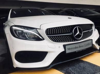 2018 Mercedes Benz C43 3 0 AMG 4MATIC (A)
