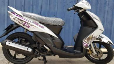 Yamaha scooter Ego S Japan Low Mile 1-pakcik pakai