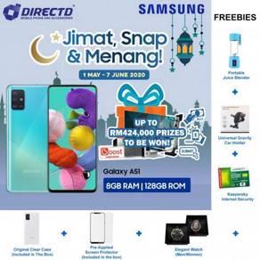 SAMSUNG Galaxy A51 (8GB RAM/128GB/Super AMOLED)NEW
