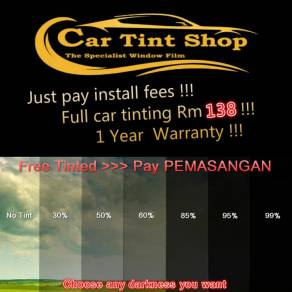Car tinting year end Promotion !!!