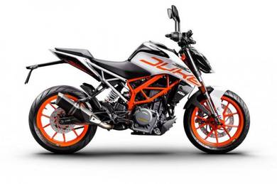 KTM Duke 390 WHITE 2019 READY STOCK