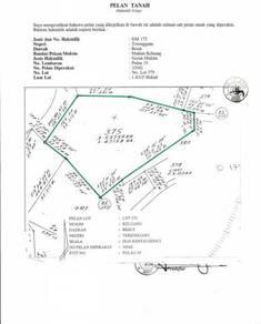 Tanah Pulau Rhu 3.6 EKAR Untuk Dijual