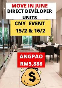 0% down payment , cash back more than rm15k, free all legal fees