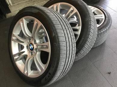 "Wheels&Tyre Original BMW 18"" & Pirelli (run flat)"