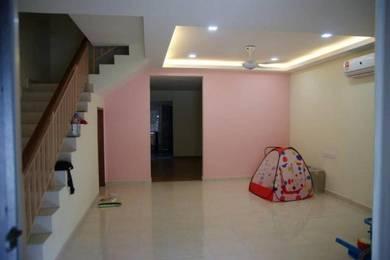 Fully Renovated for New unit Double Storey at Pulai Jaya, Skudai