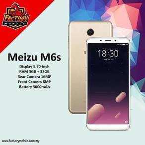 "New Meizu M6S 5.7"" [3+32GB] m'sia set"