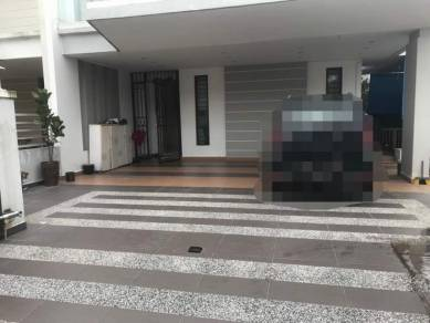 Adda Heights Maple Red Double Storey Semi D Fully Renovated for SALE