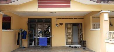 GATED AND GUARDED Two Storey Terrace House at Taman Austin Perdana
