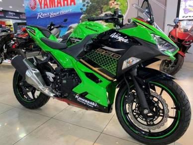 Kawasaki Ninja 250r New Colour ~ 2019 Edition