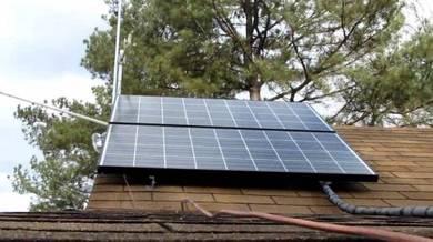 2kw kuasa solar Elektrik
