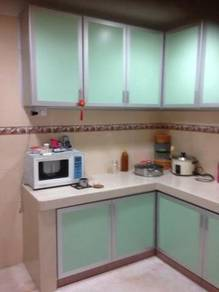Aluminium kitchen cabinet
