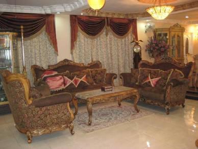 2 storey semi-d ampang villas tmn dagang jaya (below market value)