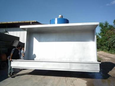Spray Booth Stainless Steel 8ft engineer malaysia