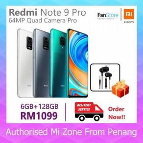 Xiaomi Redmi Note 9 Pro (Mi M'sia Warranty 1 Year)
