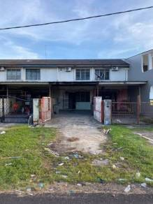 Taman Rinting Double Storey Low Cost House (long car porch) FOR SALE