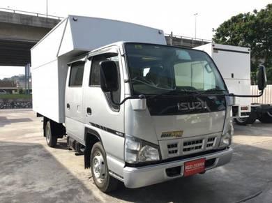 ISUZU NHR Double Cab Luton Box Rebuilt 2018