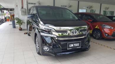 Toyota Vellfire 2017 Langkawi Rental