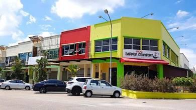 Taman Gaya, Jalan Sasa Ulu Tiram Shop lot 24x80 0% Downpayment