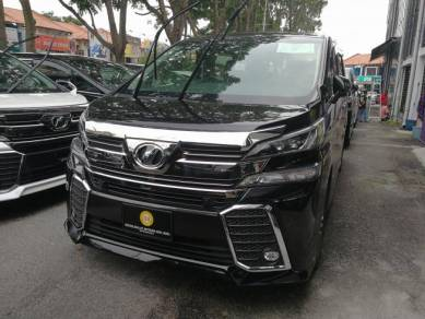2015 Toyota VELLFIRE 2.5 ZG JBL HOME THEATER 2015