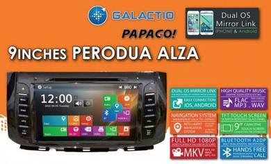 "Perodua Alza 9"" Full HD OEM Player with GPS"