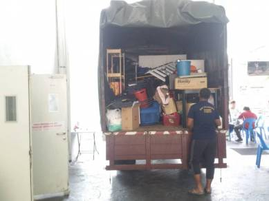 Lori sewa & pekerja angkat barang