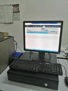 Mesin Cashier POS System Cash Register Borong PGT