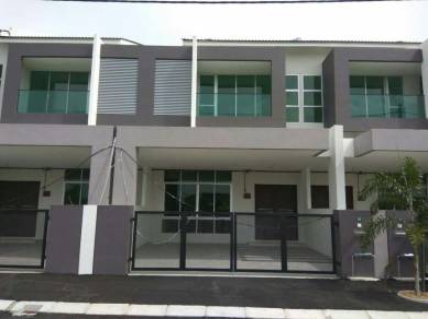 Menglembu,ipoh 2sty Brand New Terrace House
