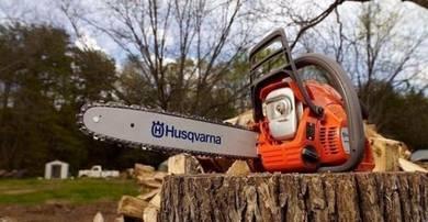 Bersih kawasan & Potong pokok & Tebas semak samun