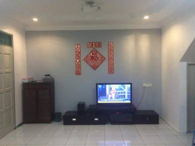 Kuching Double Storey Corner for sale