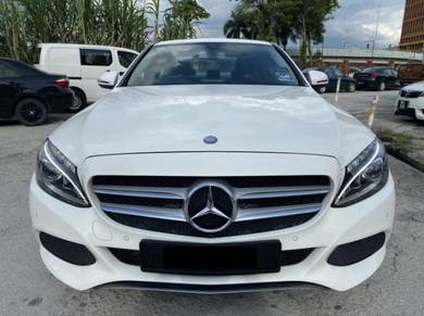 Y2018 Mercedes Benz C200 2.0 AVANTGARDE F/SERVICE