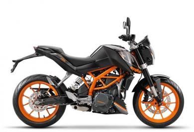 Ktm Duke 250 Baru Cash Otr RM16988 Loan Termurah