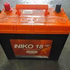 Car battery bateri NIKO 18 MF NS 40L OCT 2018 NEW