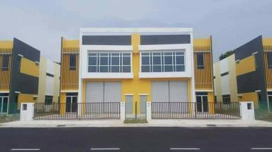 One & Half (1 1/2) Storey Semi-Detached Factory MITC Industrial Park