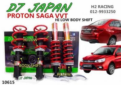 SAGA VVT NEW 17UP D7 Adjustable Hi Low Body Shift
