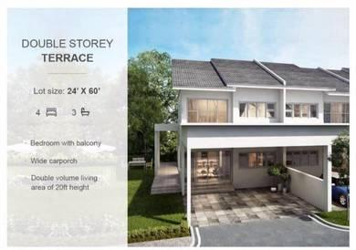 For sale: taman nuri / double storey terrace /freehold /bumi lot