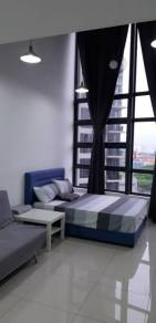 Eko cheras mall duplex unit for rent fully furnished near MRT